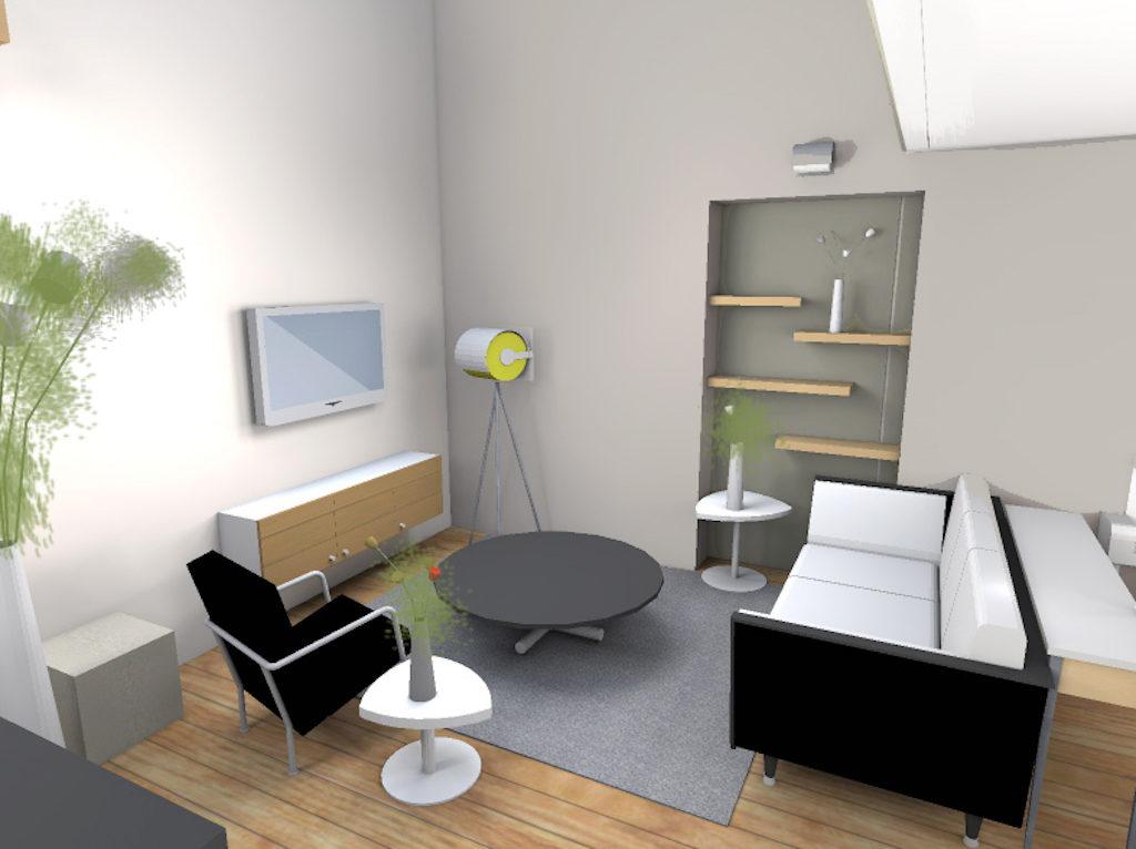 Appartement Design Et Convivial Cecile Durand